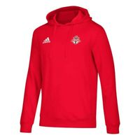 Toronto FC MLS Adidas Men's Red Team Tiro Culture Crew Climalite Pullover Hoodie