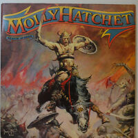 """MOLLY HATCHET - BEATIN`THE ODDS - EPIC 84471 - 12"""" LP (Y495)"""
