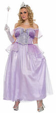 Women's Plus Size Storybook Princess Costume Renaissance Fairy Tale Purple Dress