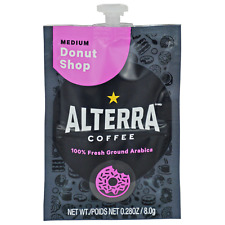 Flavia/Alterra DONUT SHOP BLEND Coffee Case/Box A200 Pack/Pod/Packet Donut