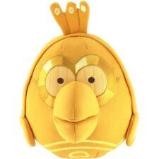 """Angry Birds Star Wars II Large 8 """"COCCOLONE giocattolo / morbido peluche giocattolo C3PO Robot, nuovo"""