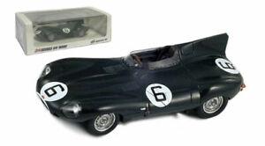Spark 43LM55 Jaguar D Type #6 Le Mans Winner 1955 - Hawthorn/Bueb 1/43 Scale