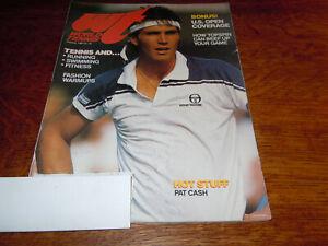 "VINTAGE OCTOBER 1984 "" WORLD TENNIS "" MAGAZINE - PAT CASH COVER"