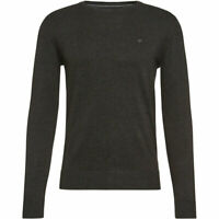 Tom Tailor Herren Pullover Pulli Sweatshirt Shirt Sweater Strick anthrazit Gr.M