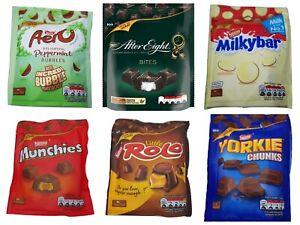 Nestle Chocolate Sharing Pouch Variety Nestle Selection Mega Bundle