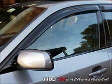 BMW E60 5 SERIES 2003-2010  WEATHERSHIELDS WEATHER SHIELD WINDOW VISOR GUARD 4D