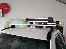 Bloqueable barras cruzadas Negro x4 90 kg SWB Ford Transit Custom barras de Techo Barras