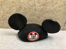 Vintage Mickey Mouse Disney World Ears Hat Walt Disney Benay Albee Usa
