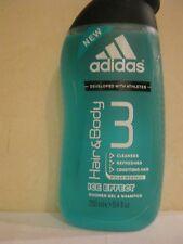 Adidas ~ Ice Effect Shower Gel & Shampoo 8.4 Oz.