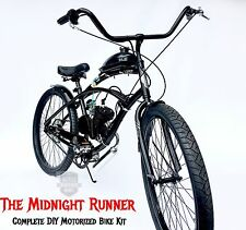 **Midnight Runner** - Motorized Bicycle Kit - DIY and save - Engine and Bike