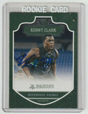 KENNY CLARK Packers SIGNED 2016 Panini Football #250 Autograph ON CARD AUTO