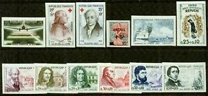 FRANCE – 1959-1960 – IMPERF. COLLECTION – VF  **