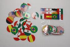 Div. Länder Nationen Konfetti Tischdekoration Streudeko 150 Stück Tischkonfetti