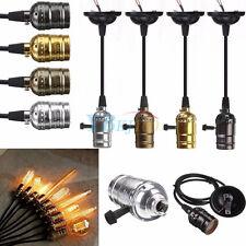 Edison Vintage Lamp Light Base Socket Holder for E27 E26 Screw Bulbs 110-220V