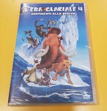 L'Era Glaciale 4 Continenti alla Deriva DVD NUOVO