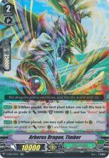 4x Cardfight!! Vanguard Arboros Dragon, Timber - V-EB10/017EN - RR Near Mint