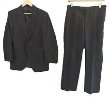"""BRUNO KIRCHES BLACK TUXEDO SUIT - Chest 36"""" / Trousers 30"""""""