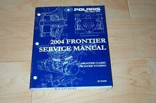 2004 Frontier Classic Touring Polaris Oem Snowmobile Service Repair Manual