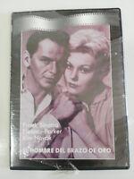 EL HOMBRE DEL BRAZO DE ORO FRANK SINATRA ELEONOR PARKER DVD SLIM NEW NUEVA
