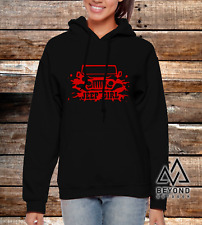 Jeep Girl V2 SUV Ladies Women Hoodie