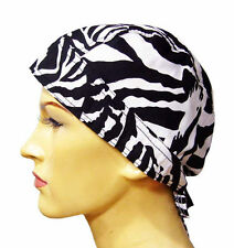 #F15 - WHITE TIGER Zandana ZEBRA Head Hair Band Bike Handkerschief Scarf Cap