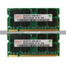 Nuevo Hynix 8GB 2x4GB PC2-6400 DDR2 PC6400 800 Mhz 200pin Sodimm Memoria Ram Para Laptop