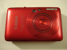 Very Nice Canon PowerShot SD780 12MP Digital Camera - Red