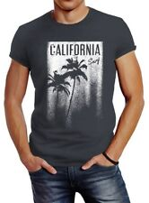 Señores t-shirt California Surf palmeras slim fit neverless ®