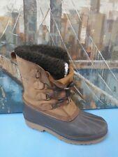 Sorel Badger Mens Size 7 Winter Boots Brown/Black