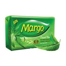 Margo Neem Soap pack of 4 Clear Skin free of acne pimples with neem oil