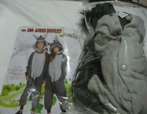 Halloween RG Costume 100 Acres Donkey Funsies One Pc Hoodie Child Sz M 8-10 NEW