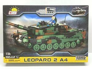 Cobi 2618 - 1/35 scale Leopard 2 A4 Tank (864pcs) Building Blocks - Armed Forces