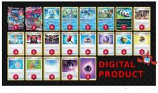 Dragapult Inteleon DECK Pokemon TCG Online DIGITAL cards PTCGO