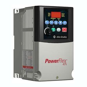Allen-Bradley PowerFlex 40 AC Drive0.5HP/0.4kw