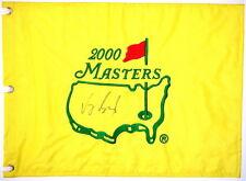 VIJAY SINGH Signed - 2000 MASTERS (WINNER) -  Golf Flag