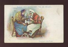 Advertising Social History TEA INDUSTRY GP Government Tea advert 1904 PPC