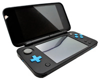 """Nintendo """"NEW"""" 2DS XL Handheld Console - Black/Turquoise"""