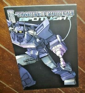The Transformers: Spotlight by Simon Furman (2007, IDW TPB)