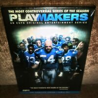 Playmakers (DVD, 2006) ESPN Complete Series 3 Disc Set Brand New Factory Sealed