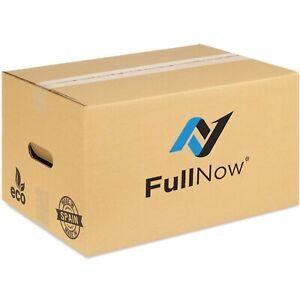 Pack 20 Cajas de Cartón Mudanzas Pequeñas con Asas Ultraresistentes 43x30x25cm