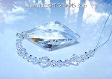 HUGE RAINBOW MAKER 63mm DROP & Swarovski Crystals SUNCATCHER Lilli Heart Designs
