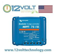 Victron Blue Solar MPPT 75/10 10 Amp Solar Charge Controller FEDEX 2nd Day Air