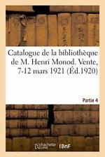 Catalogue de la bibliotheque, livres du XVe sie, BOSSE,,