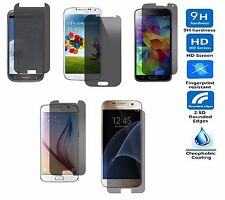New Privacy Tempered Glass Screen Protector For Samsung Galaxy S3 S4 S5 S6 S7