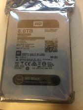 Western Digital 8TB BLACK Performance Hard Drive WD 128mb WD8001FZWX
