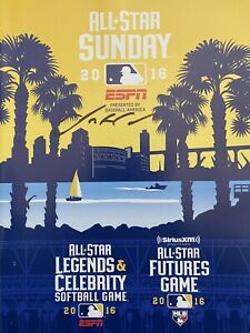 2016 MLB ALL STAR FUTURES GAME PROGRAM SIGNED BY MILWAUKEE BREWERS JOSH HADER