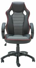 X-Rocker Leather Effect Gaming Chair - Black - Hr0211