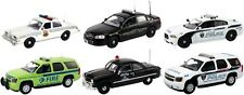SET OF 6 POLICE CARS RELEASE #4 1/43 BY FIRST RESPONSE REPLICAS FR-43-R04