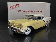 1957 Oldsmobile Super 88 Coronado Yellow & Victoria White 1/18 Danbury Mint