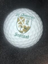 St. Andrews Golf Club Country Club Golf Ball w/ Logo for Display Cabinet New